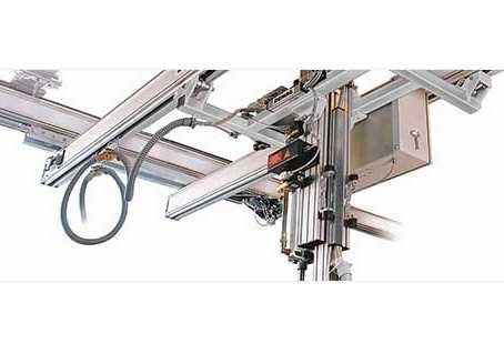Pneumatic lifting axes